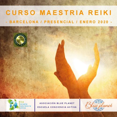 Curso Maestria Reiki - Barcelona Enero 2020