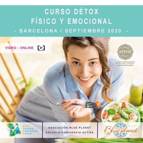 Curso Détox - Físico y Emocional - Barcelona